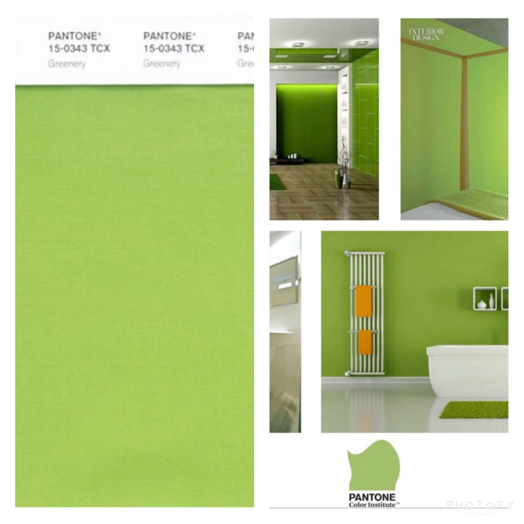 2017 Color Of The Year Has Home Interiors Going Green