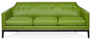 Fresh off the heels of Pantone's 2017 Color of the Year announcement, upholstery and occasional furniture manufacturer Hancock & Moore unveils their array of sofas and accent seating in Greenery. Dubbed as fresh and revitalizing, the zesty green color is shown in different fabrics and leathers for an eclectic look.