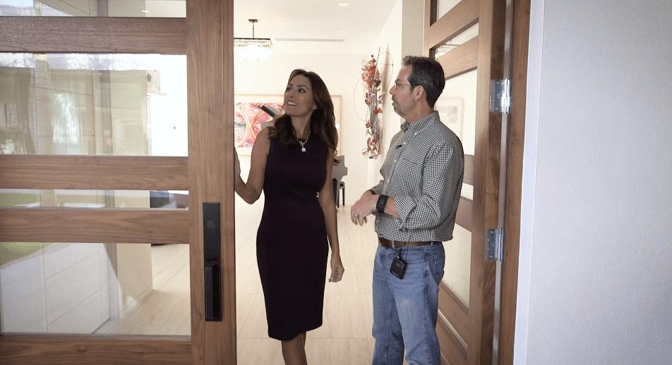 Simpson Door Company Custom Doors in The New American Home