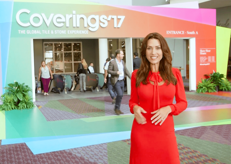 The Design Tourist Karen LeBlanc at The Coverings Show
