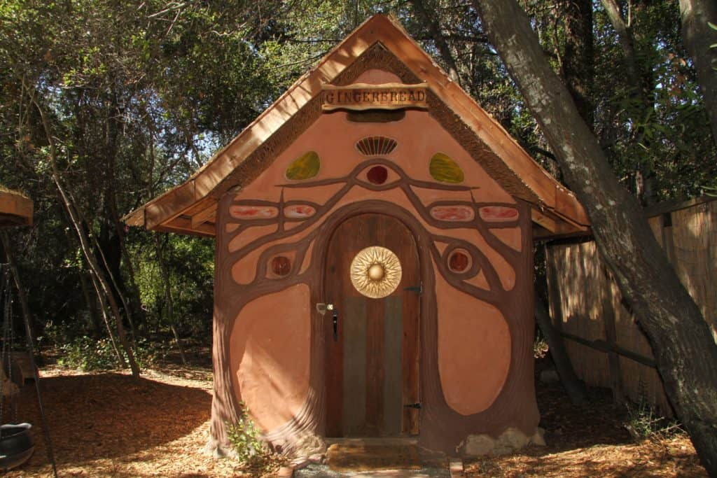 The Gingerbread House available on Airbnb located in Geyersville, Ca. A great choice for Design Travelers looking for authentic accommodations in unique locales. If you have a quirky place, consider listing it with Airbnb to earn extra income. Photo credit: Airbnb