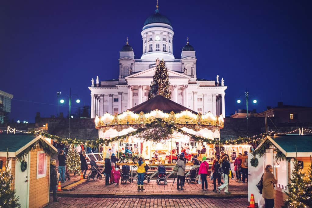 Helsinki Christmas Markets are a great way to discover artisan and handcrafted design items and experience the beautiful holiday lights. For more design travel ideas, subscribe to the channel at youtube.com/TheDesignTourist