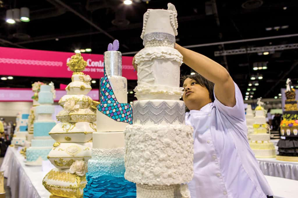 If you are interested in participating in hands-on classes, demonstrations and Retail Bakers Association seminars, advance registration is recommended.