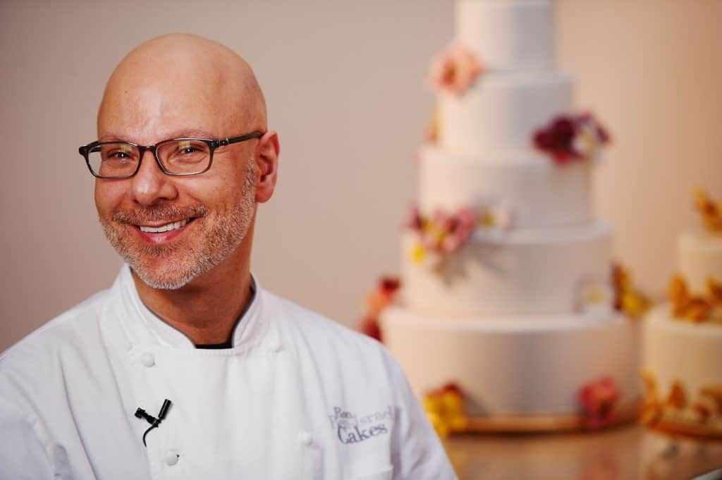 "Celebrity Cake Decorator Ron Ben-Israel, named ""the Manolo Blahnik of wedding cakes"" by The New York Times"