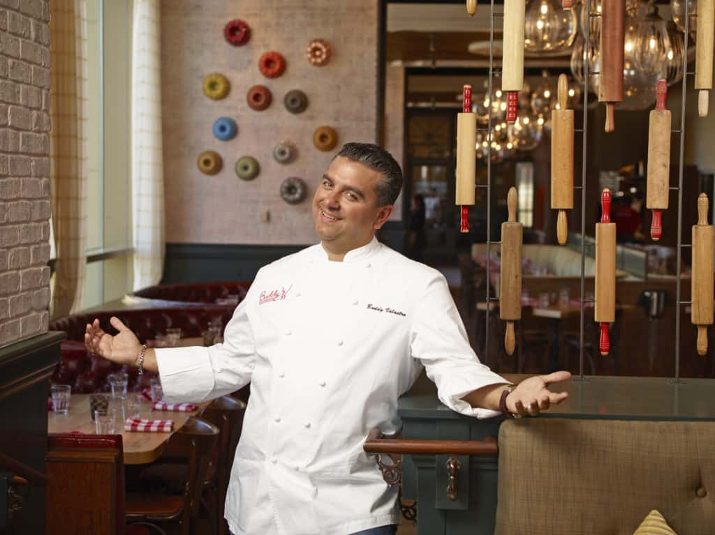 Buddy Valastro, Star of TLC's Cake Boss, the cake decorating genius. Photo credit: The Americas Cake Fair