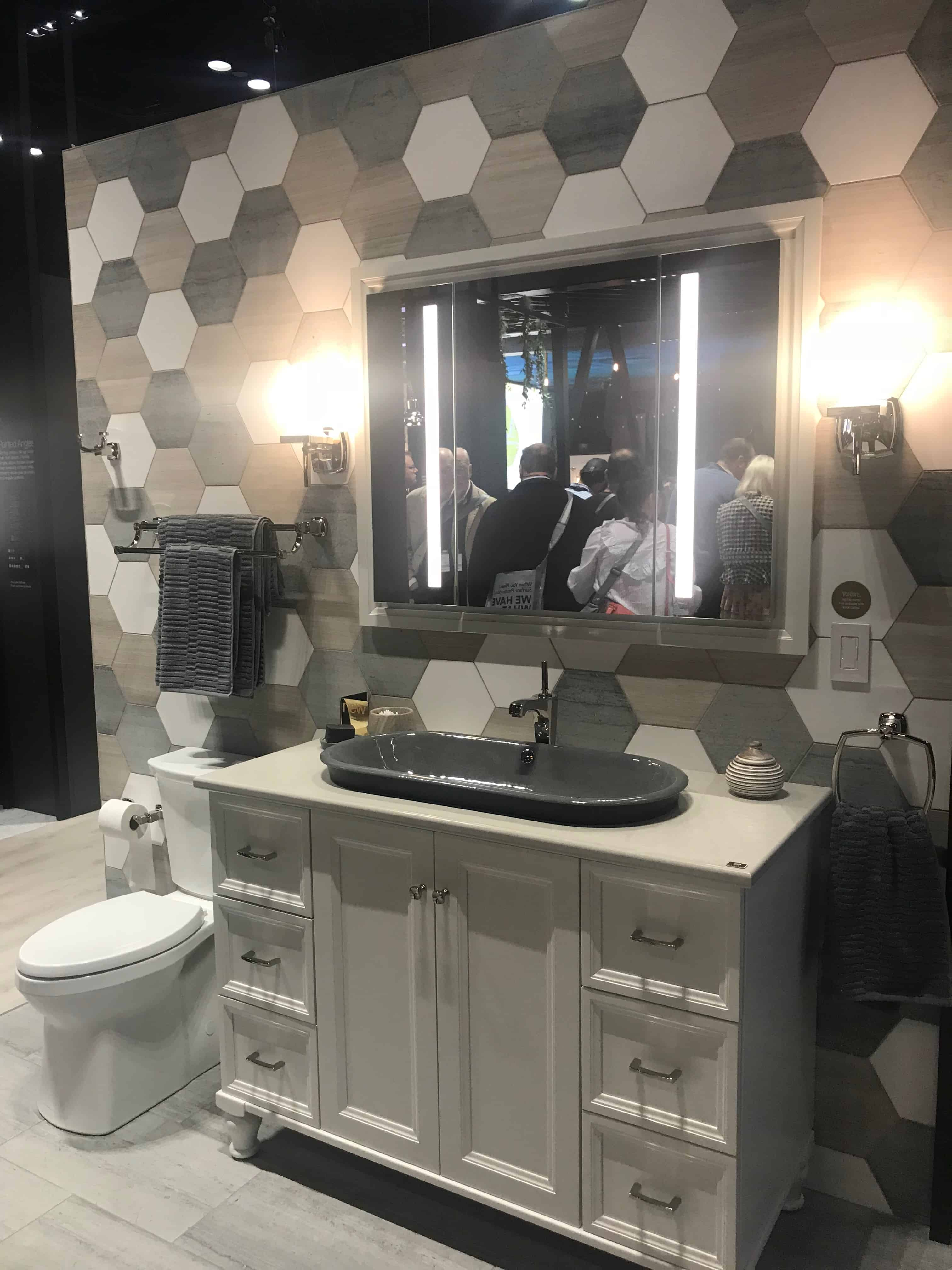 The Verdera Lighted Mirrors by Kohler with Amazon Alexa