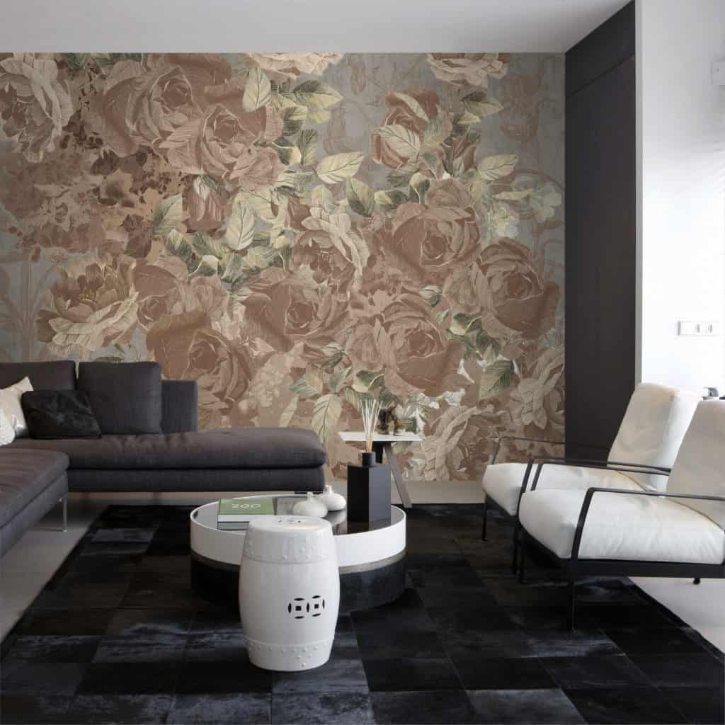 Blossom wallpaper design from the Palingenes Collection, Skinwall
