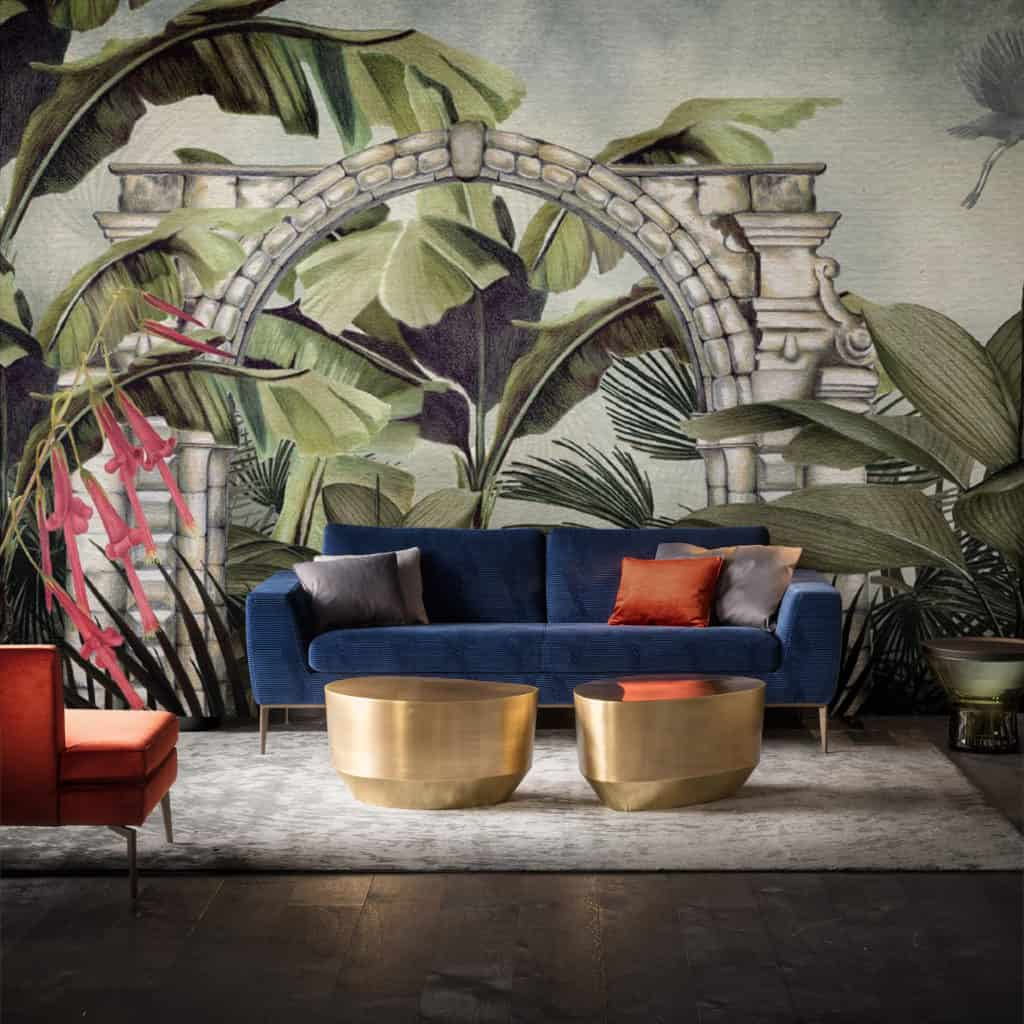 Salgari wallpaper design from the Palingenes Collection, Skinwall