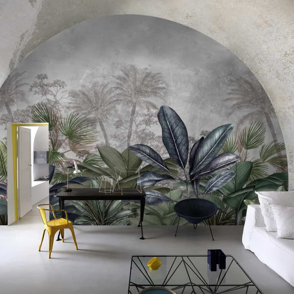 Welcome to the Jungle wallpaper design from the Palingenes Collection, Skinwall