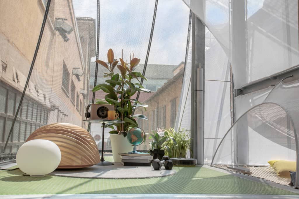 Breathe by Soil for Mini Living. photo credit: Heimtextil