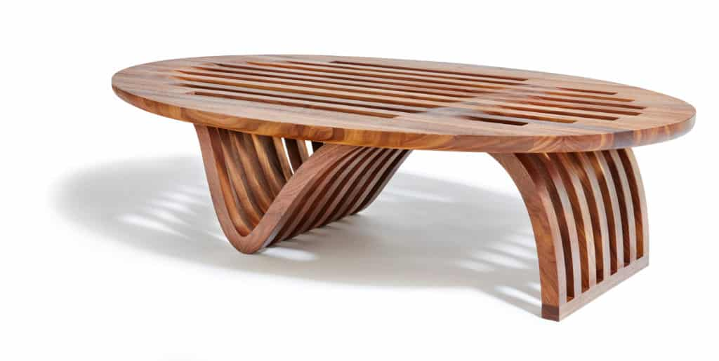 Handcrafted furniture designed and built by Ottra. Photographed by John Muggenborg.