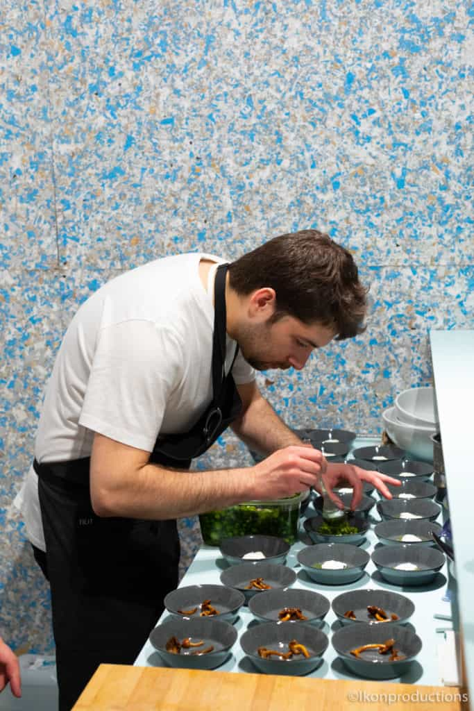 At the Zero Waste Bistro, chefs from Nolla, the first Nordic zero-waste restaurant in Helsinki, present food that is sourced, packaged and produced to create zero waste.