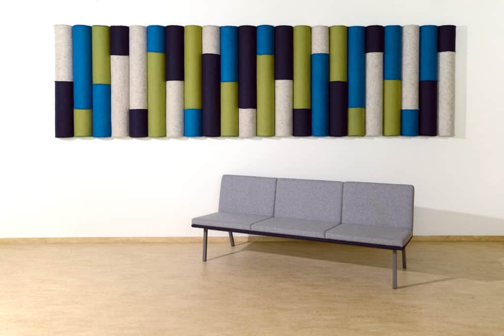 Lina Mosaic sound absorbing panels