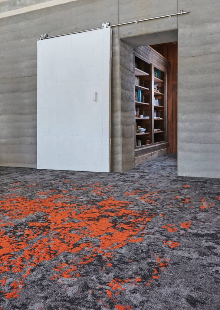 Designed in collaborationwith Jason McLennan of McLennan Design, Lichen is the first flooring product to achieve the International Living Future Institute Living Product Challenge Petal certification.