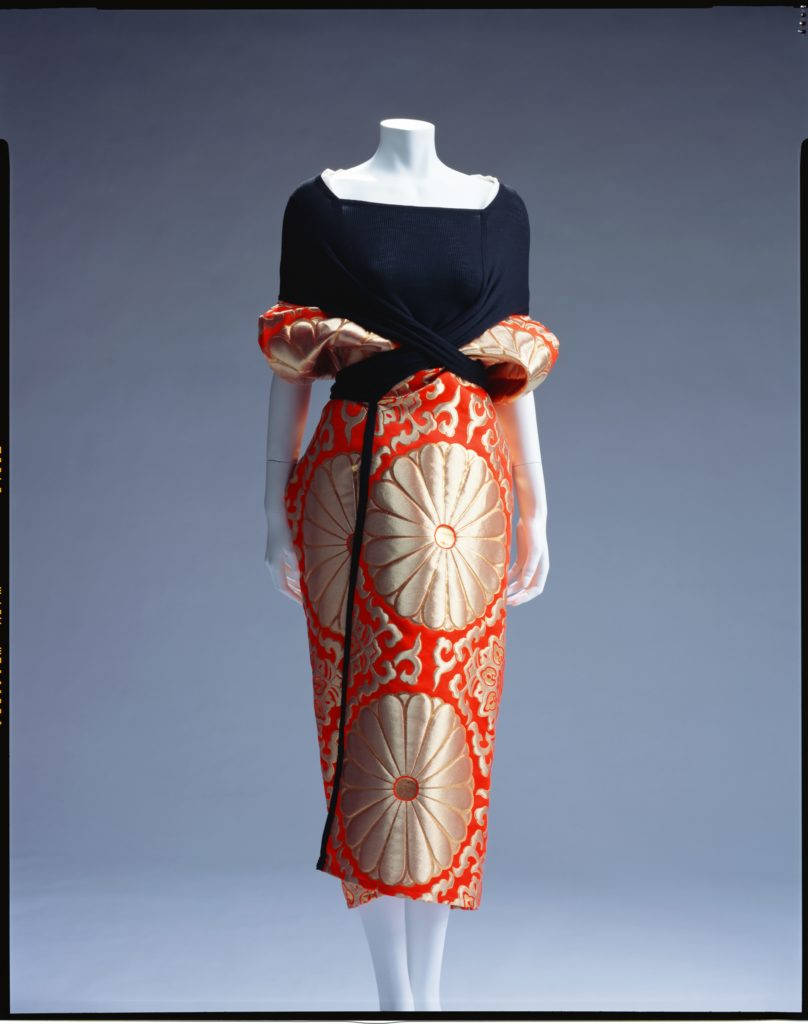 Yohji Yamamoto Dress / Spring/Summer 1995 Collection of the Kyoto Costume Institute Photo by Takashi Hatakeyama