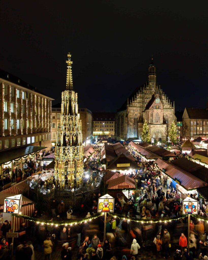 Christkindlesmarkt in Nuremberg © Uwe Niklas