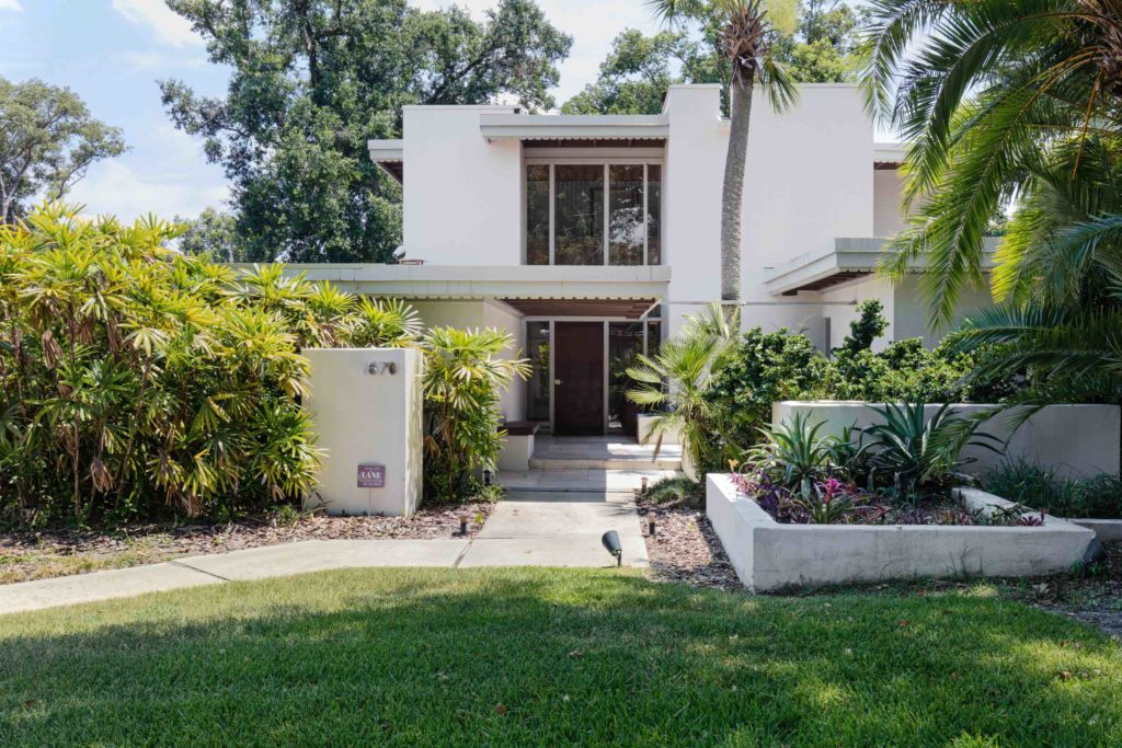 The Goldman House in Maitland, Florida designed by architect Nils M. Schweizer is now listed on the National Register of Historic Places.