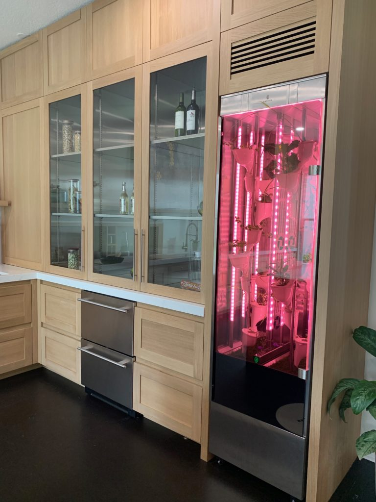 The Wellness Kitchen in WHIT uses UV germicidal lighting technology to deactivate the DNA of bacteria, virus and other pathogens on an object's surface. Photo credit: The Design Tourist