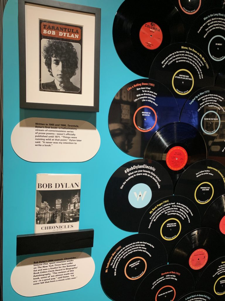 Bob Dylan: Electric Exhibit at American Writers Musem in Chicago