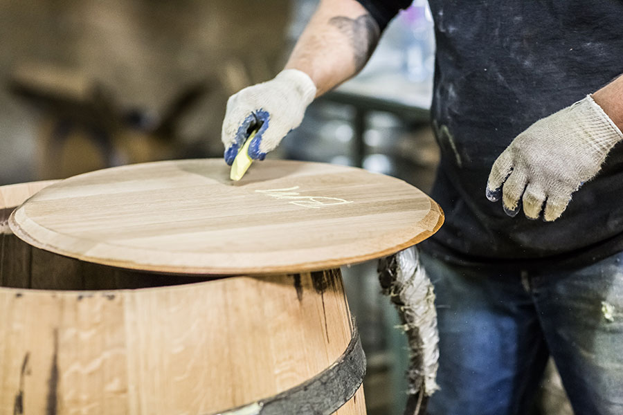 Silver Oak owns The Oak Cooperage in Higbee Missouri where Master Coopers handcraft American White Oak barrels.
