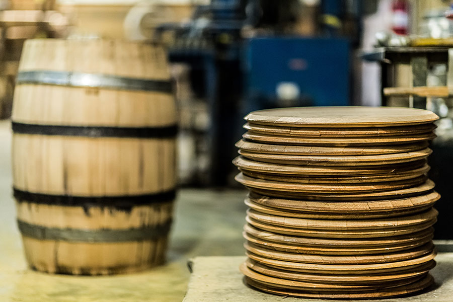The Oak Cooperage in Higbee Missouri where Master Coopers handcraft American White Oak barrels.