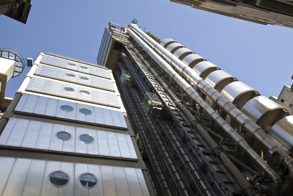 The Lloyd's Building on Lime Street. photo credit: Lloyd's of London