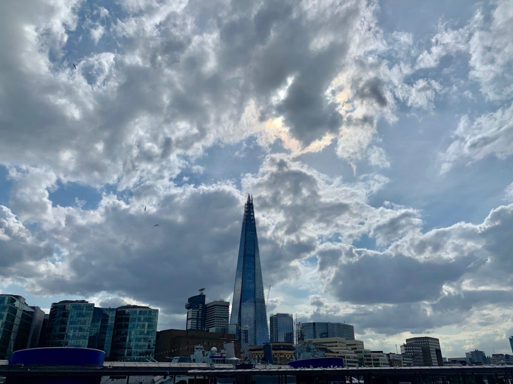The Shard in London. photo credit: Karen LeBlanc, aka The Design Tourist