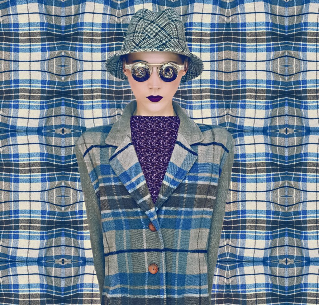 Fashion Plaid Womаn