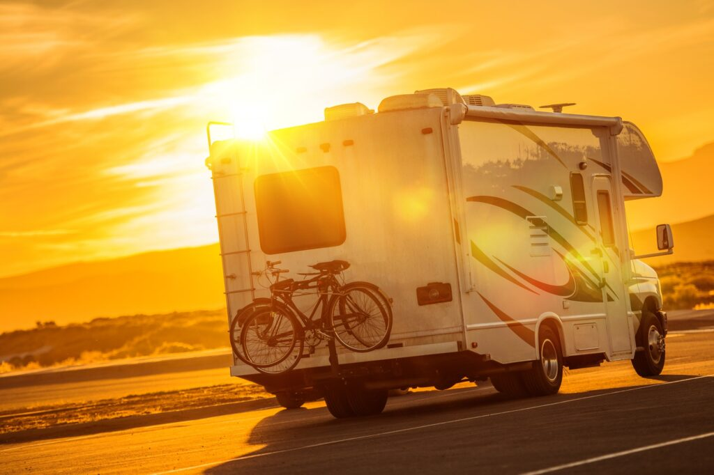 RV Camper Boondocking