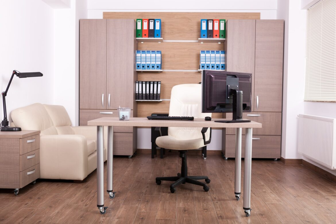 Business office interior